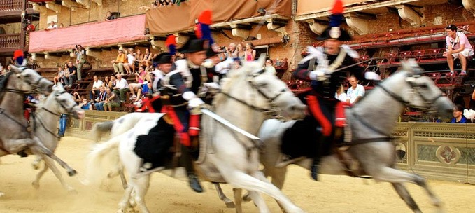 Pieve a Castello: Siena and the Palio trip