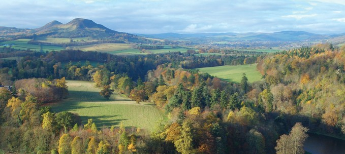 The Scottish Borders trip