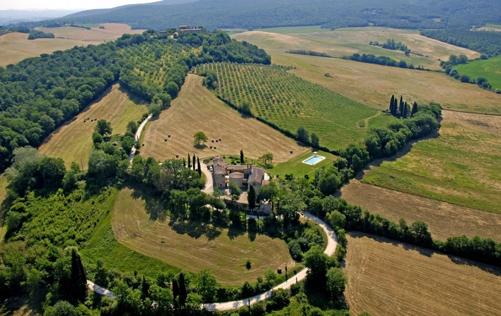 Pieve from air 2