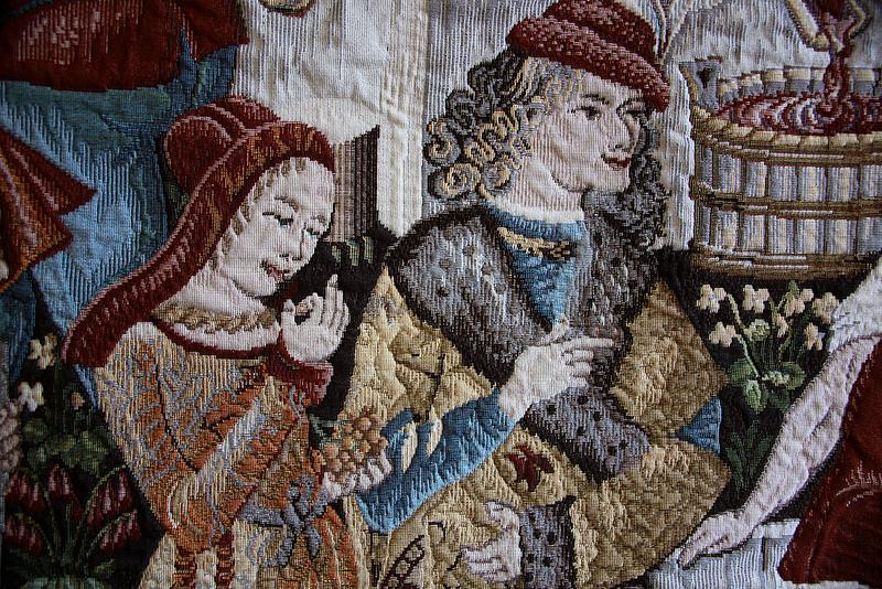 Medieval tapestry Pieve