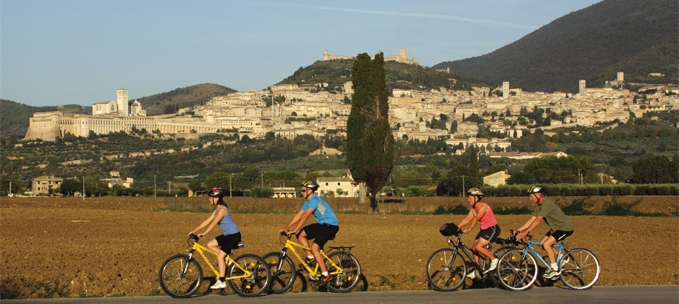 Cycling: Umbria & Assisi trip