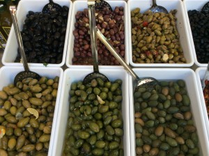 Selection of Olives - The Gargano Peninsula, Italy