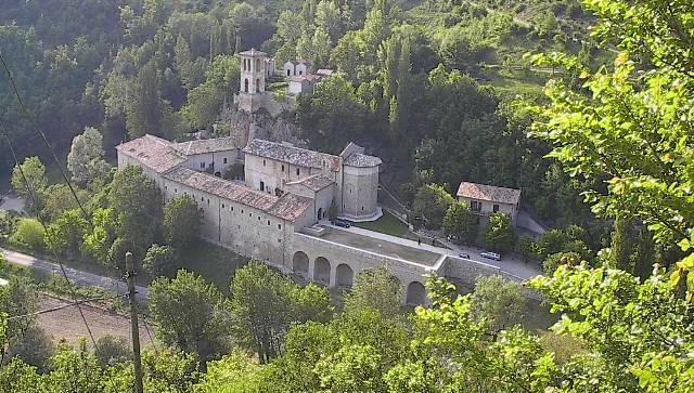 Abbey of S.Eutizio, Umbria, Italy