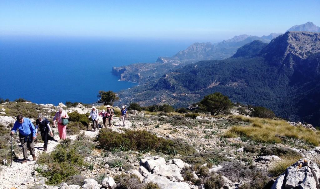 Mallorca walking tour Sarah Wellburn