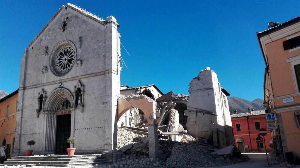 Basilica of St Benedict Norcia