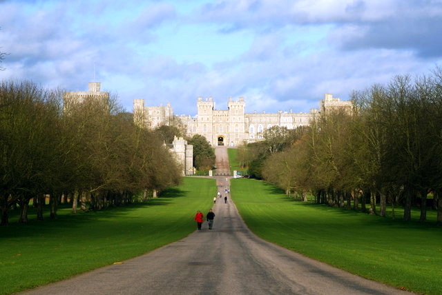 Long Walk Windsor Castle