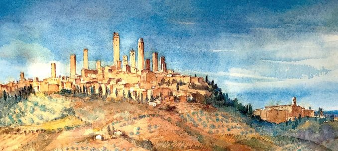 Pieve a Castello: Painting Tuscany trip